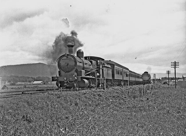D50 Class Steam Locomotive, NSW. From the Australian Railway Historical Society, New South Wales Division.