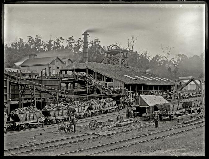A Pit Colliery, Newcastle, NSW, 24 February 1899