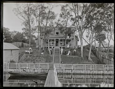 Clift Family House, Belmont, NSW, 20 February 1896