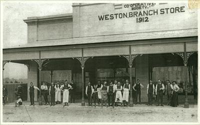 Co-operative Society - Weston Store branch, 1912