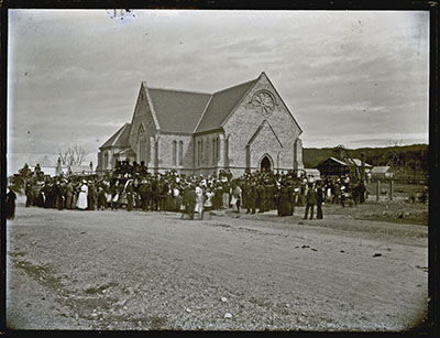 Funeral of Glebe Pit Men, 3 July 1889