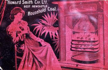 Postcard order for 'Howard Smith Co. Ltd. Best Newcastle Household Coal'