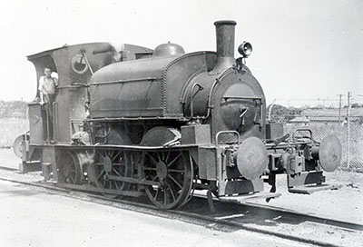 J & A Brown Steam Locomotive Number 2 as rebuilt 0-4-2ST