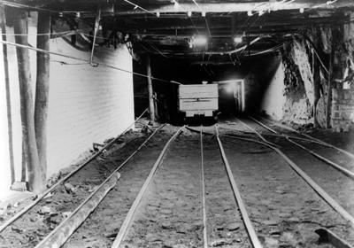 Underground at Richmond Main Colliery Barry Howard Collection