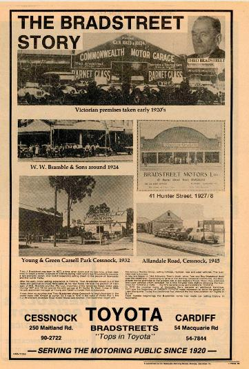 Theo Bradstreet Dealership Ad