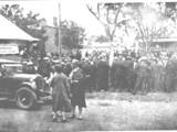 Norman Brown's funeral following the Rothbury Riot, 1929