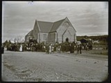 Funeral of Glebe Pit men, St Augustine's, Merewether, [3 July