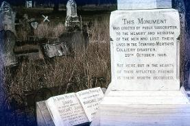 Stanford Merthyr Monument, Hunter Valley Coal series - Kurri Cemetery. From the Dr.John Turner collection, University of Newcastle, Cultural Collections.
