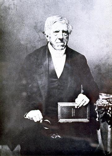 Reverend Lancelot E. Threlkeld, mid-1800s. From the John Turner collection University of Newcastle, Cultural Collections.